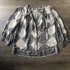 Joie | Silk Button Down Blouse